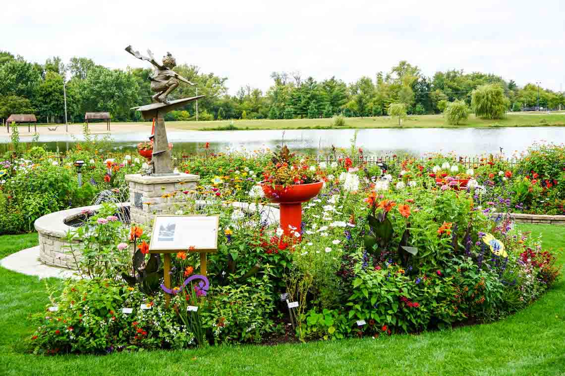 Nancy Yahr Memorial Children's Garden at Rotary Botanical Gardens in Janesville, Wisconsin, USA