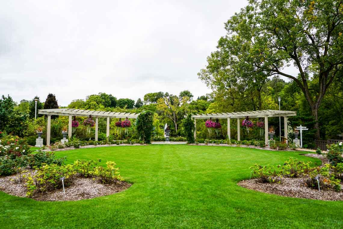 Rotary Botanical Gardens in Janesville, Wisconsin, USA