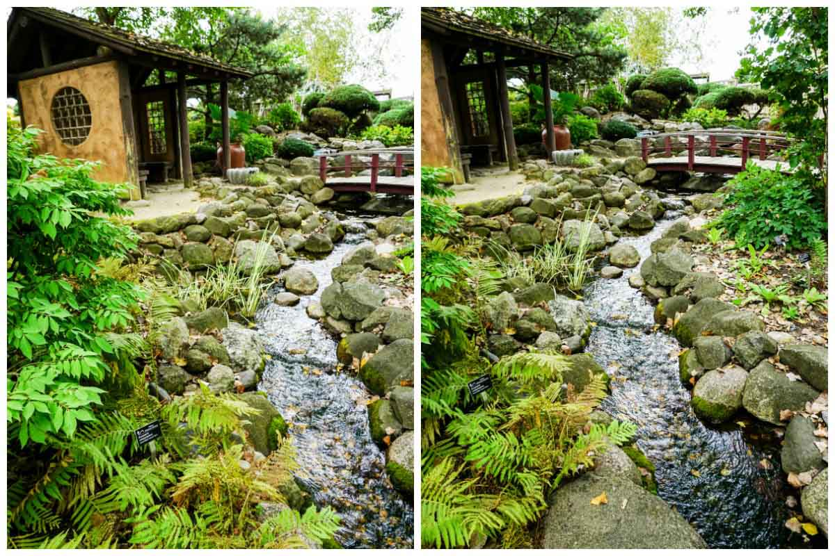 Japanese Garden at Rotary Botanical Gardens in Janesville, Wisconsin, USA
