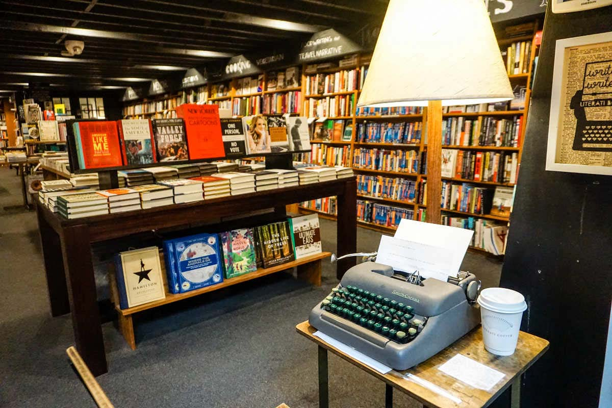 Literati is an independent bookstore in downtown Ann Arbor, Michigan