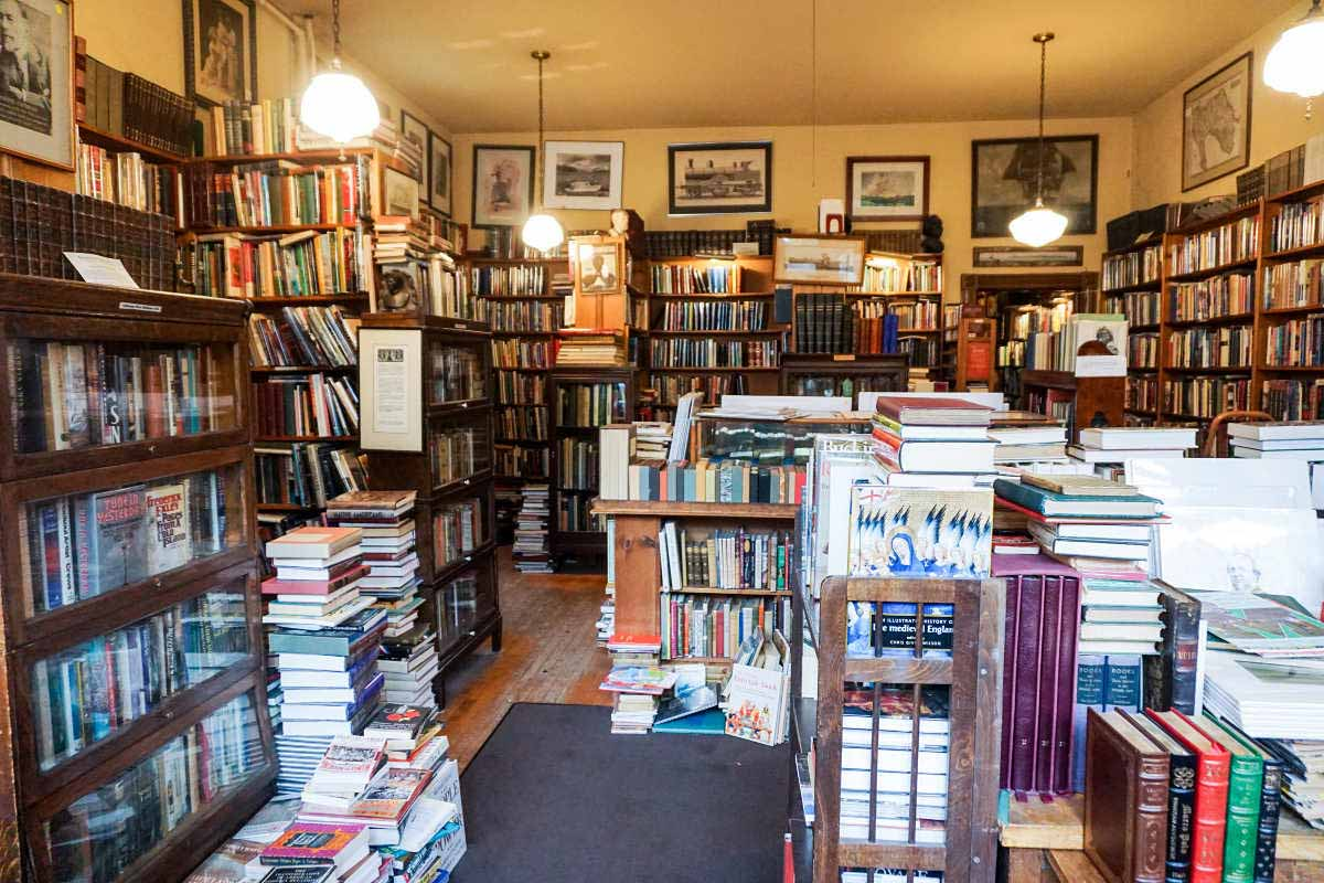 Selling rare and antiquarian books, the West Side Book Shop has been part of downtown Ann Arbor since the 1970s.