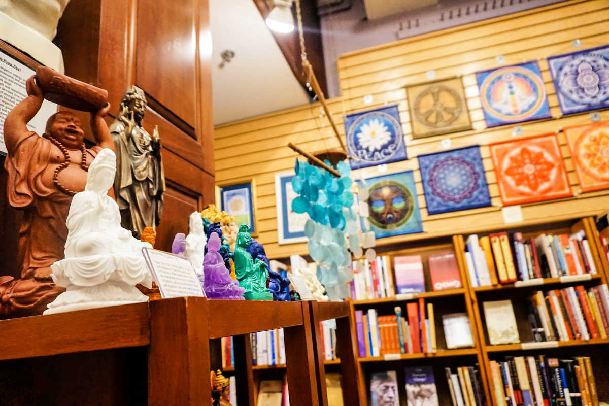 "Crazy Wisdom carries 200 book categories from ""acupuncture to zen"" in downtown Ann Arbor, Michigan."