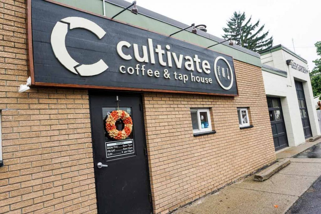 Cultivate Coffee & TapHouse in Ypsilanti, Michigan, USA