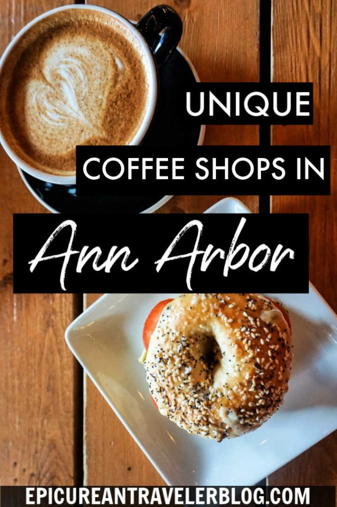 Wondering where to sip a cup of coffee or tea in Ann Arbor, Michigan? In this post, find 7 unique places for your favorite warm beverages. These aren't your average coffee shops! | Ann Arbor, Michigan, USA | #sponsored #AnnArbor #ErinInAnnArbor #DestinationAnnArbor #PureMichigan #coffee #michigan #travel #foodtravel #coffeeshops #tea