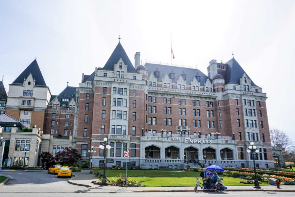 Fairmont Empress in Victoria, BC, Canada