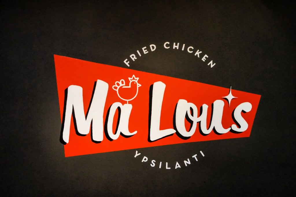 Ma Lou's Fried Chicken in Ypsilanti, Michigan, USA