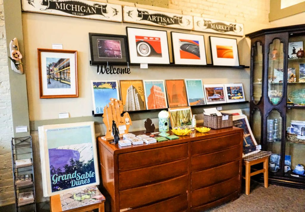 The Eyrie, a Michigan Artisan Market, in Ypsilanti, Michigan, USA