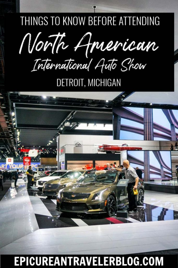 The North American International Auto Show held annually in Detroit is the largest automotive showcase in North America. This article shares what you should know before attending the public show! #sponsored #NAIAS #ReinventNAIAS