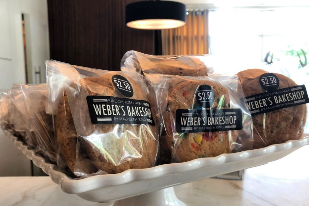 Cookies from Weber's Bakehouse in Ann Arbor, Michigan
