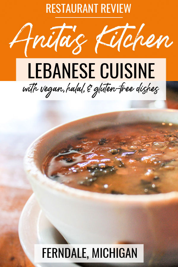 Restaurant Review: Anita's Kitchen Lebanese Cuisine with vegan, halal, and gluten-free dishes in Ferndale, Michigan