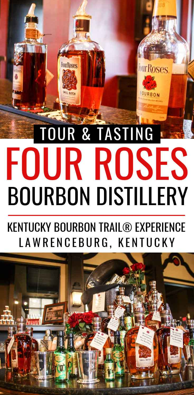 Tour & Tasting at Four Roses Bourbon Distillery