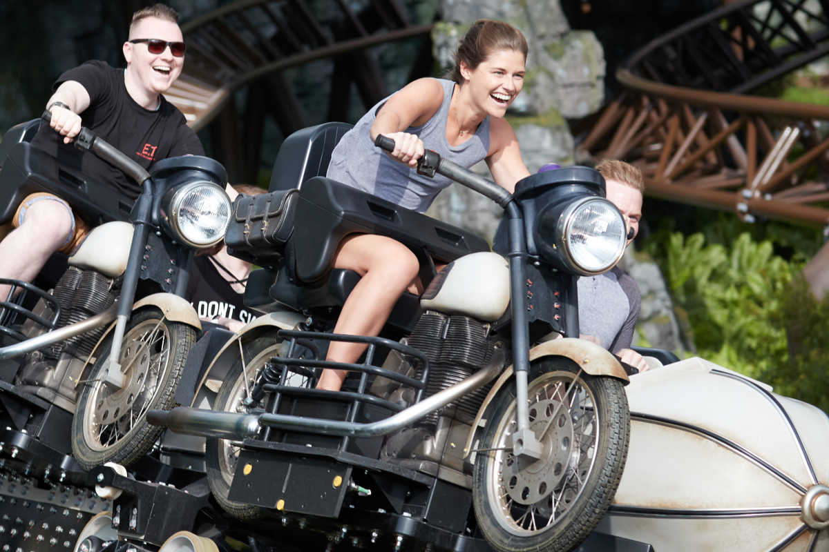 Hagrid's Magical Creatures Motorbike Adventure in Hogsmeade at Islands of Adventure, Universal Orlando Resort