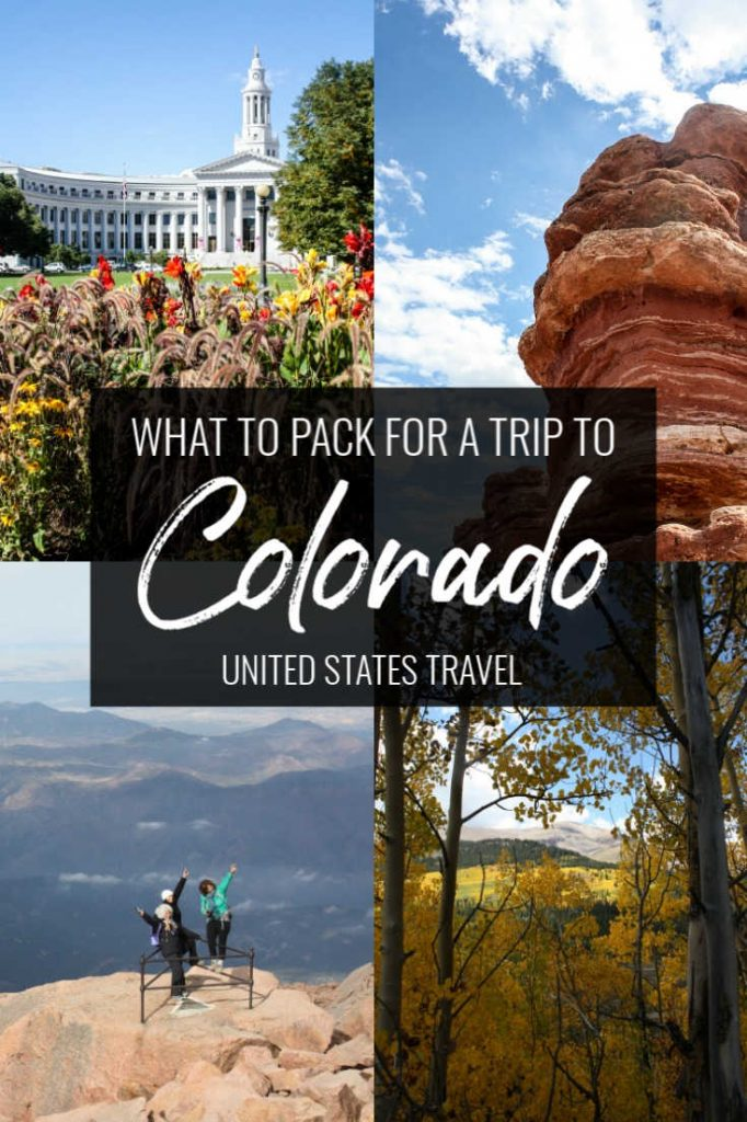 What to pack for a trip to Colorado