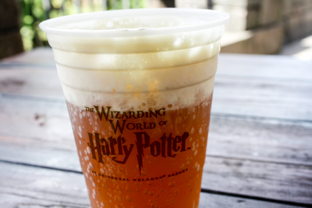 Butterbeer at the Wizarding World of Harry Potter at Islands of Adventure (Erin Klema/The Epicurean Traveler)