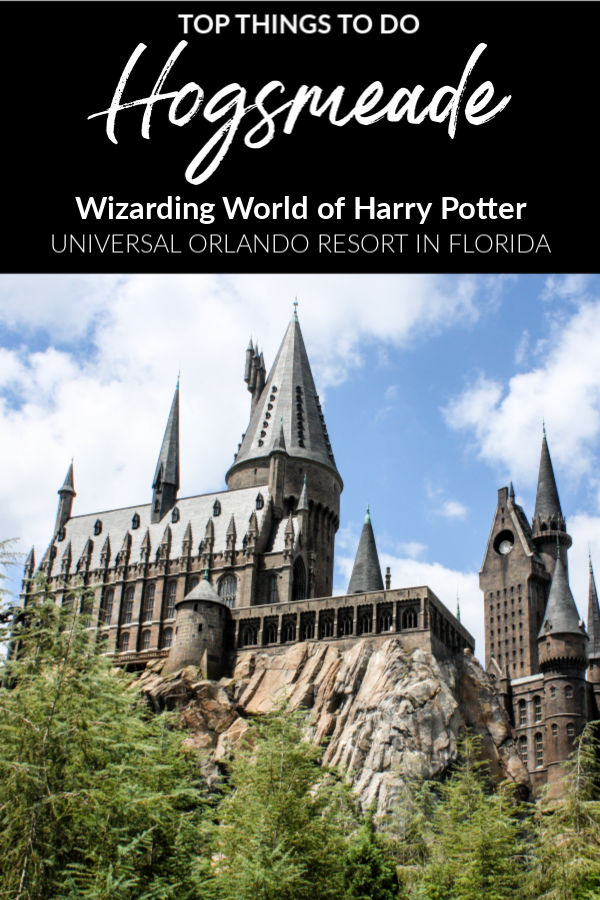 Tips for visiting Wizarding World of Harry Potter - Hogsmeade at Universal Orlando Resort's Islands of Adventure theme park in Orlando, Florida