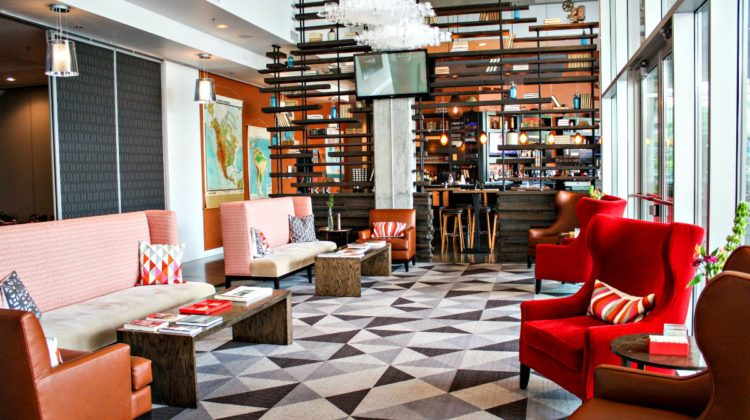 Review of HotelRED, a boutique hotel in Madison, Wisconsin via EpicureanTravelerBlog.com