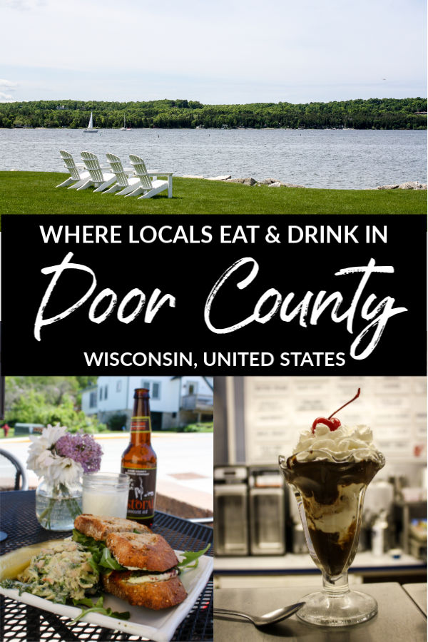 Where Locals Eat and Drink in Door County, Wisconsin, United States