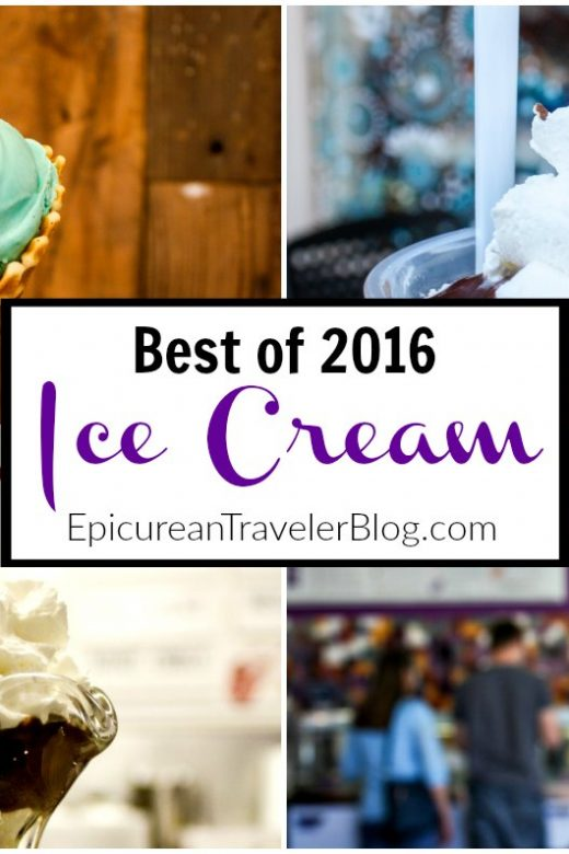 The Epicurean Traveler's top 10 ice creams from a year of travel around the United States. | EpicureanTravelerBlog.com