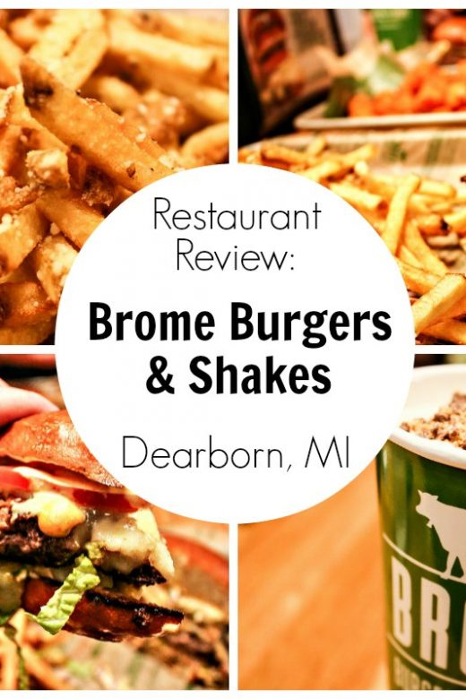 Restaurant Review: Brome Burgers & Shakes in Dearborn, Michigan | EpicureanTravelerBlog.com