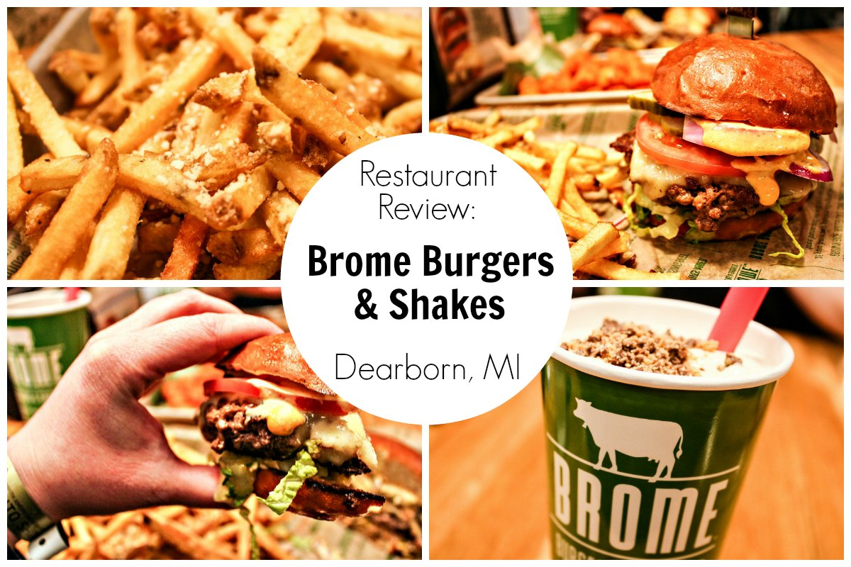 Restaurant Review Brome Burgers Shakes In Dearborn Michigan