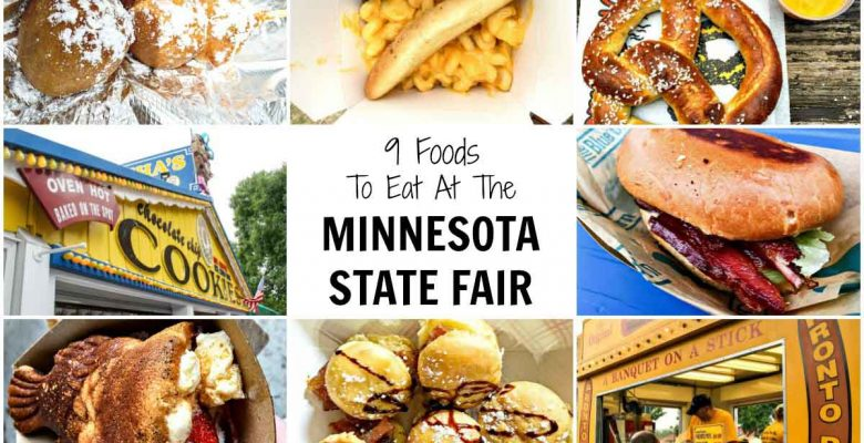 9 Foods To Eat At The Minnesota State Fair