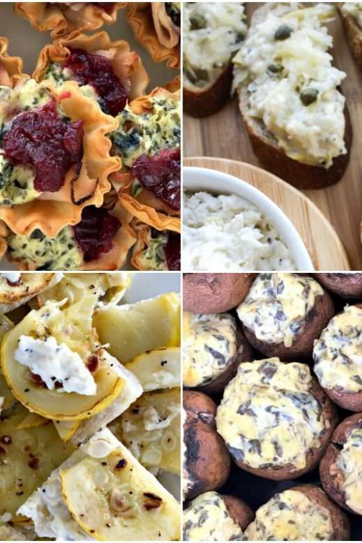 Easy Party Appetizers Made With La Terra Fina Dips