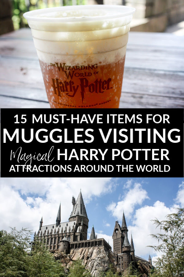 15 Must-Have Items for Muggles Visiting Magical Harry Potter Attractions Around the World