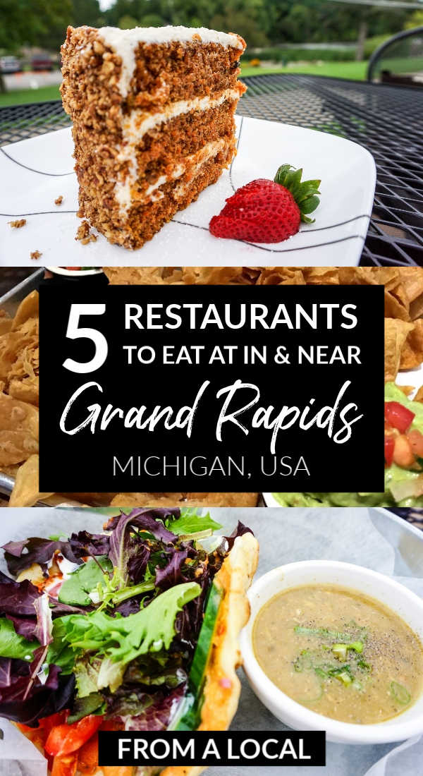 Five favorite restaurants in Grand Rapids, Michigan, from a local