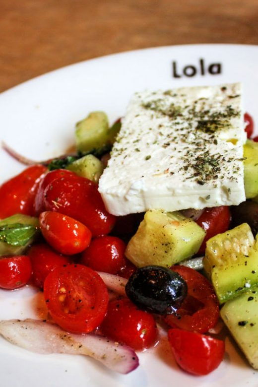 Dining in the USA: The Greek salad at Lola in Seattle is a must-eat dish.