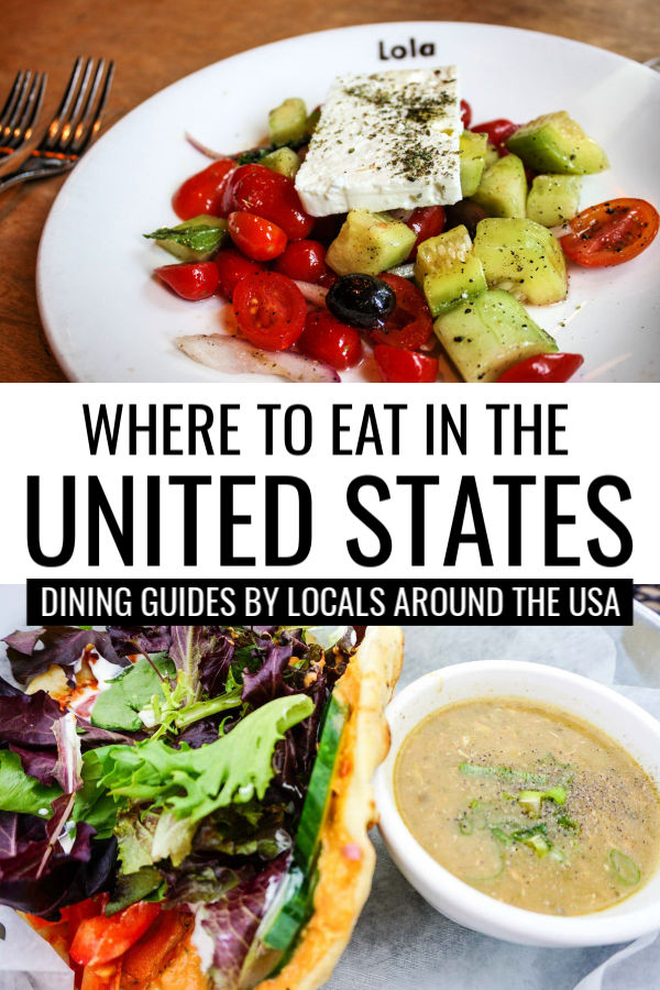 Where to Eat in the United States: Local Dining Guides by Locals Around the USA