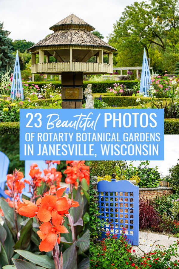 23 Beautiful Photos of Rotary Botanical Gardens in Janesville, Wisconsin, USA pin