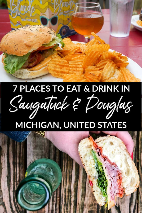 Where to eat and drink in Saugatuck and Douglas, Michigan, USA