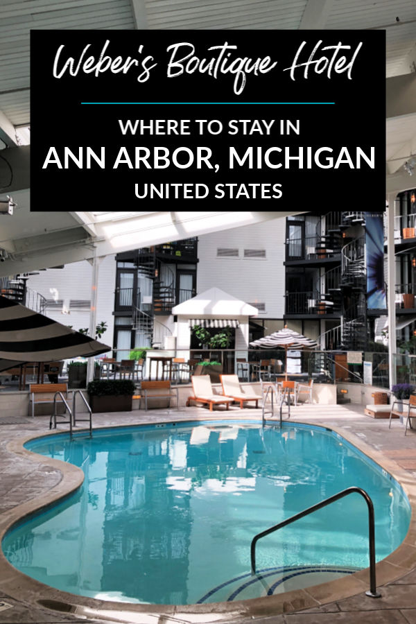 Where to stay in Ann Arbor, Michigan: Weber's Boutique Hotel & Restaurant