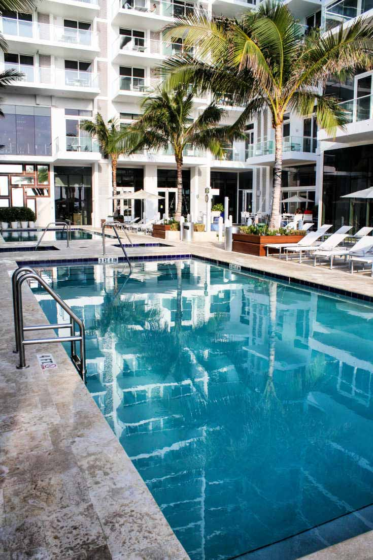 Main pool at Grand Beach Hotel Surfside in Surfside, Florida
