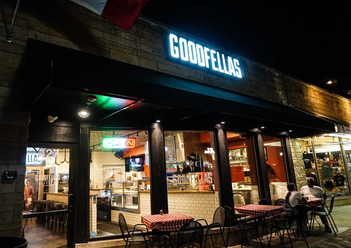 Goodfellas pizzeria in Bloomington, Indiana