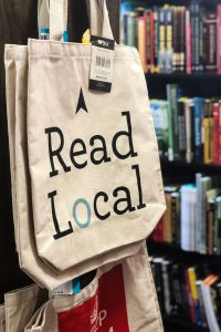 Local bookstore in Bloomington, Indiana