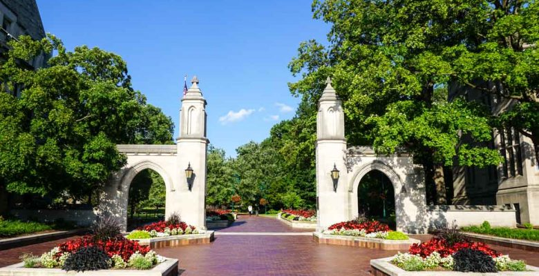 Sample Gates, Indiana University, Bloomington, Indiana