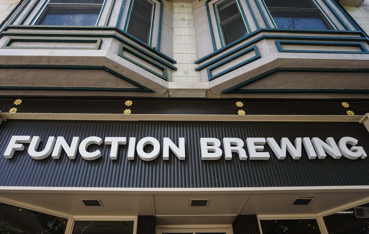 Bloomington, Indiana microbrewery Function Brewing