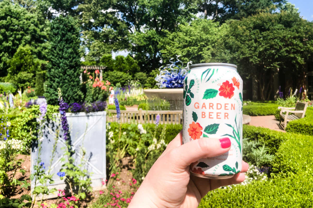Garden Beer at the Atlanta Botanical Garden in Atlanta, Georgia, USA
