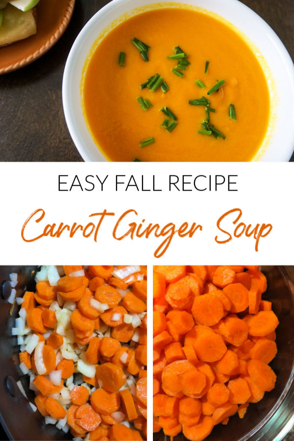 Easy Fall Recipe: Carrot Ginger Soup