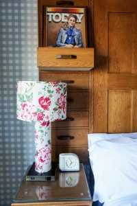 Graduate Bloomington guest room nightstand