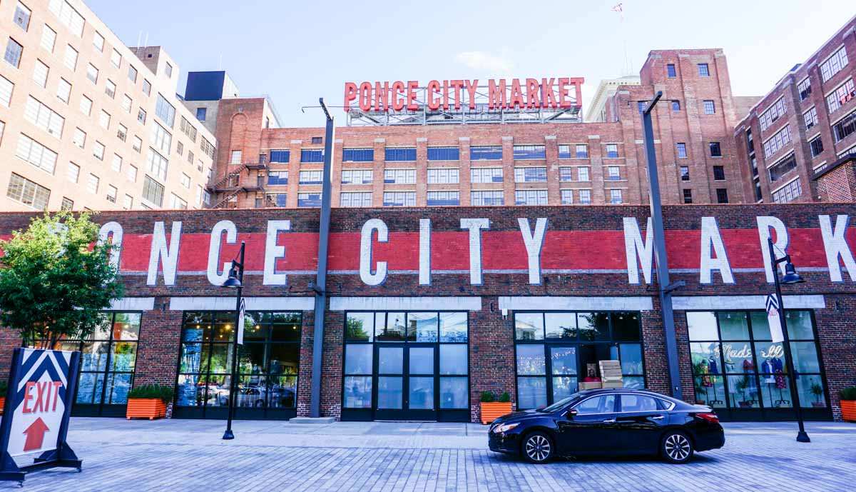 Ponce City Market is one of several markets foodies will love exploring in Atlanta