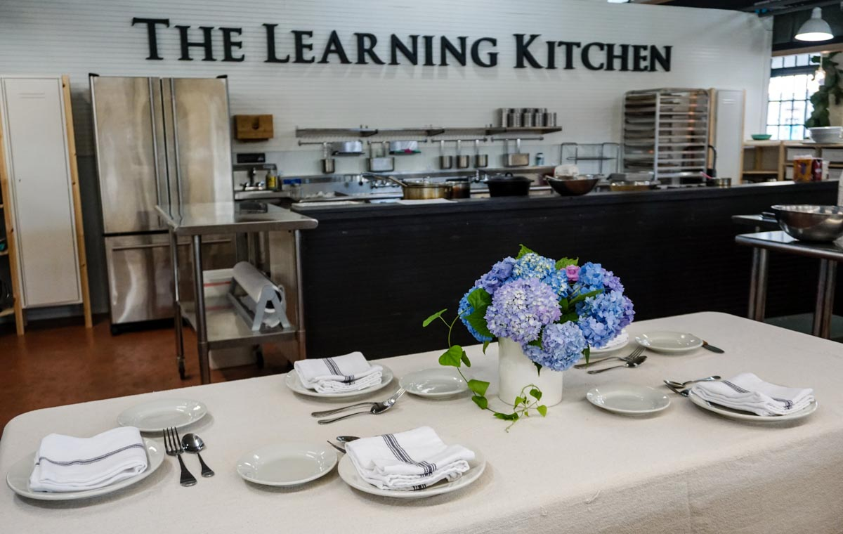 The Learning Kitchen ATL Vol. 2 offers cooking classes and private events at the Sweet Auburn Curb Market in Atlanta, Georgia.