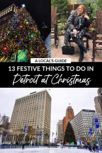 A Local's Guide: 13 Festive Things to do in Detroit at Christmas