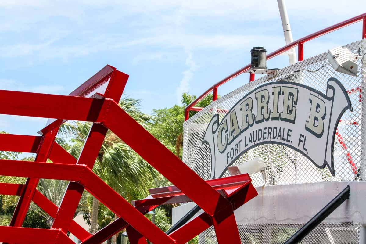 Carrie B Paddlewheeler in Fort Lauderdale, Florida