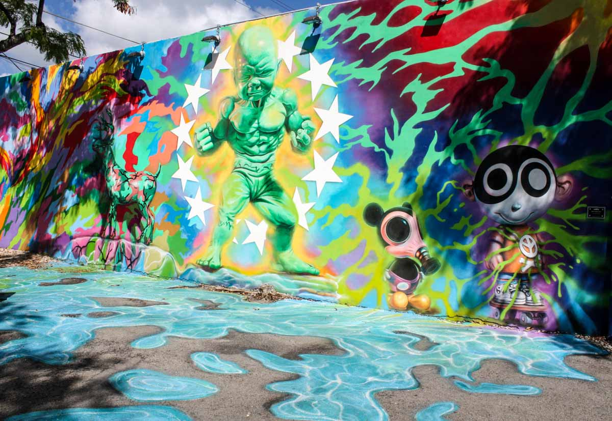 Hulk Boy mural at Wynwood Walls, Wynwood Arts District, Miami