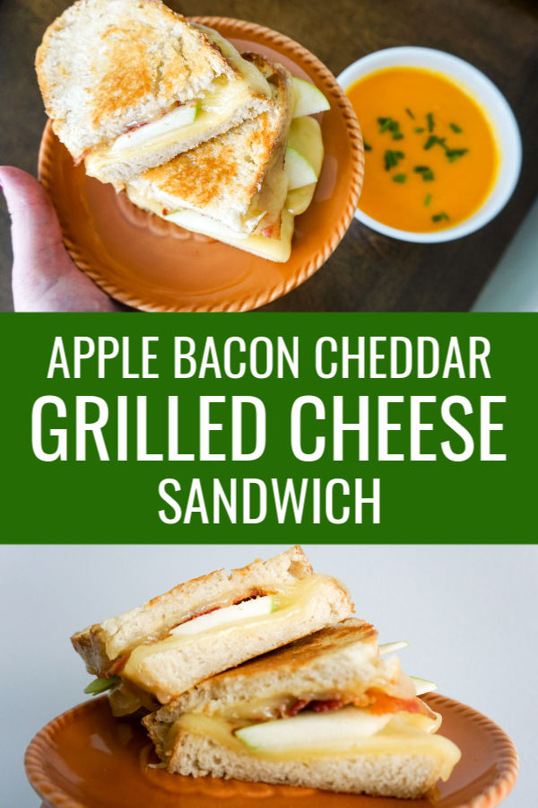Apple Bacon Cheddar Grilled Cheese Sandwich Recipe